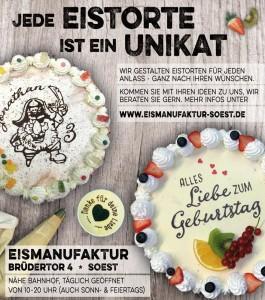 """Werbung für den City Guide """"Soest auf den ersten Blick"""""""