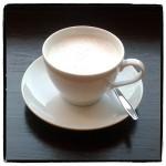 Heiße Mandelmilch